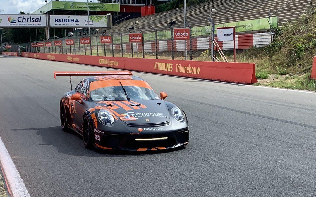 Dennis Retera en zijn team Independent Motorsports pakt podium tijdens 24H van Zolder